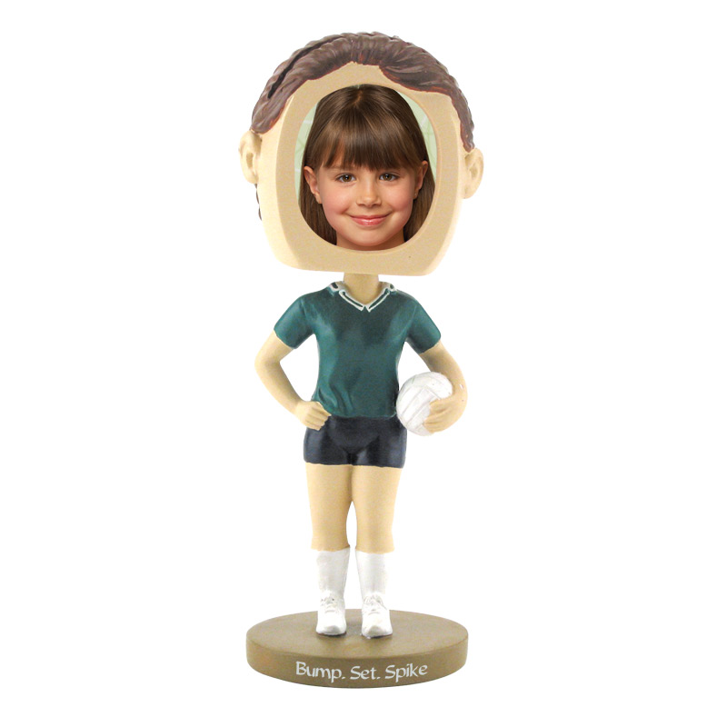 Girl's Volleyball Bobblehead