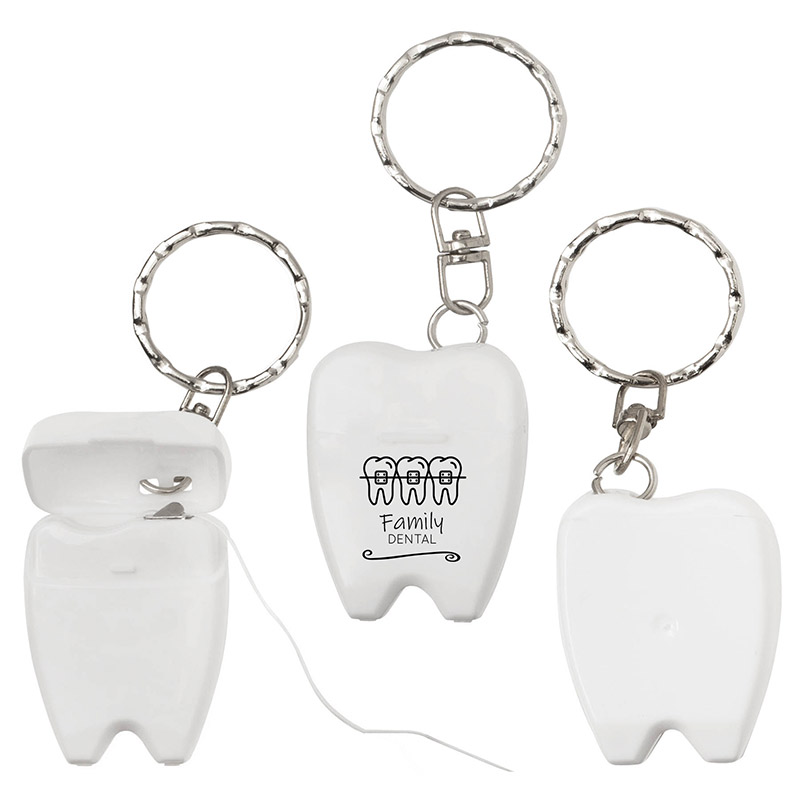 Dental Floss Keytag