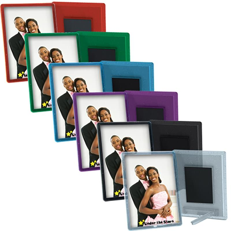 2 x 2 7/8 Translucent Magnetic Snap-In Frame