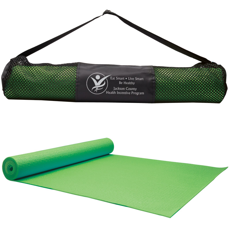 Yoga Fitness Mat & Carrying Case