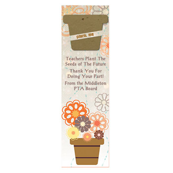 Pot Seed Shape Bookmark