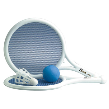 Mesh Paddle, Ball & Birdie Game