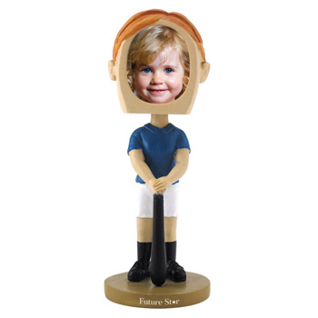 Girl's Softball Bobblehead