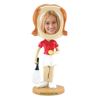 Girl's Tennis Bobblehead