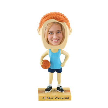 Girl's Basketball Bobblehead