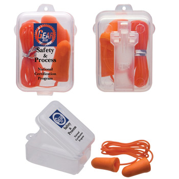 Corded Foam Earplugs & Case