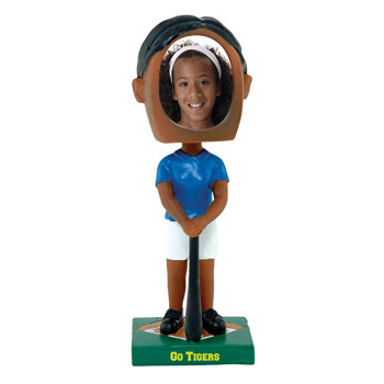 Girl's Softball Bobblehead -DST