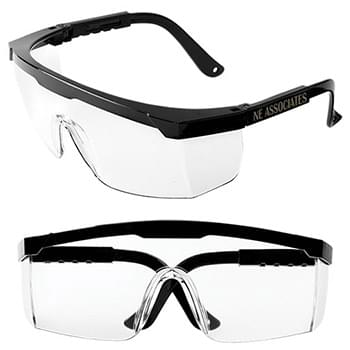 Adjustable Frame Safety Glasses