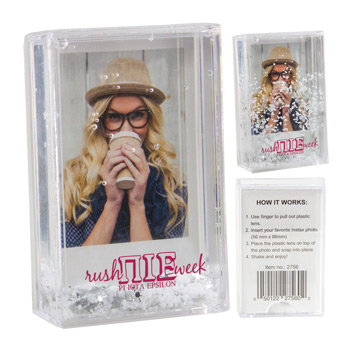 Instax Mini Snow Picture Frame