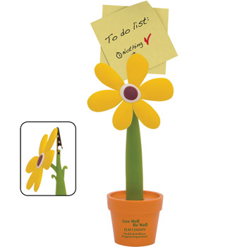 Flower Note Holder