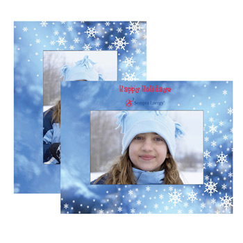 Winter Paper Easel Frame