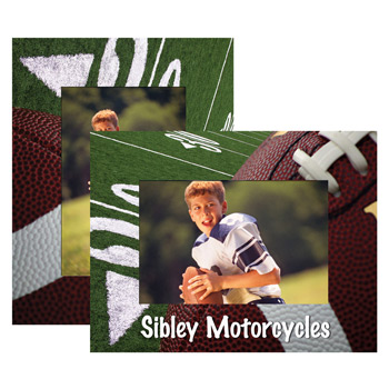 Football Paper Easel Frame