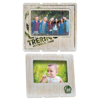 6 x 4 Distressed Wood Frame