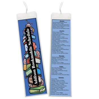 2 x 8 Open Sleeve Bookmark