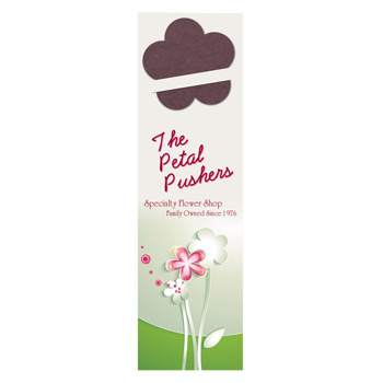 Flower Seed Shape Bookmark