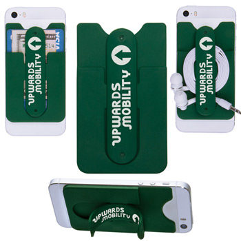 3-in-1 Cell Phone Card Holder