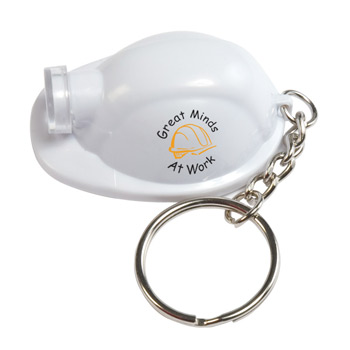 Light Up Hard Hat Keytag