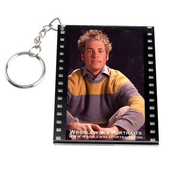 Filmstrip Slip-In Keytag
