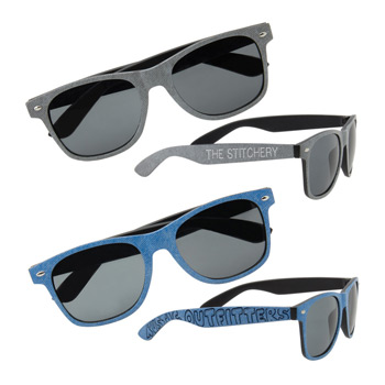 Denim Print Sunglasses